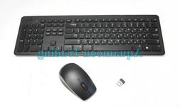 PYTND Dell Hebrew QWERTY Wireless Keyboard and Mouse W/Dongl