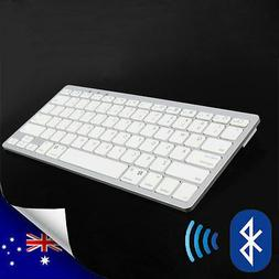 Rechargeable Slim 2.4GHz Wireless Bluetooth Keyboard For Win