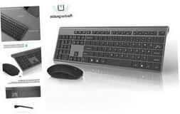 Rechargeable Wireless Keyboard and Mouse Combo-J JOYACCESS P