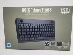 Adesso 2.4 GHz RF Wireless Mini Trackball Keyboard