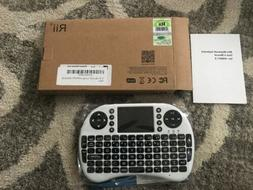 Rii i8 mini Backlit Wireless Keyboard+Touchpad 2.4GHz for An