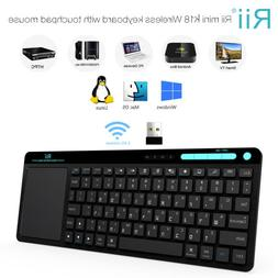 Rii RT518 Hebrew Language Wireless Keyboard For Window XP PC