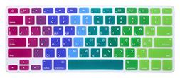 """HRH Russian Silicone Keyboard Cover Skin for MacBook Air 13"""""""
