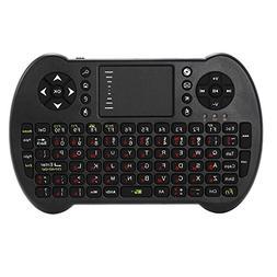 S501 mini wireless keyboard mouse touchpad multimedia key ke
