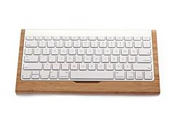 Wooden Bracket Dock Keyboard Holder Stents Stand for iMac Ma