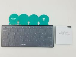 Jelly Comb Slim Portable Wireless Keyboard  WGJP-019B - Blac
