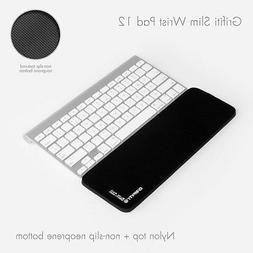 GRIFITI Slim Wrist Pad 12 is a 12 x 4 x 0.22 Wrist Rest for