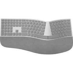 Microsoft Surface Ergonomic Keyboard Gray - Wireless - Bluet