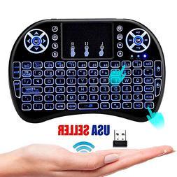 Teclado Inalambrico Keyboard Wireless Tactil Raton Para Lapt