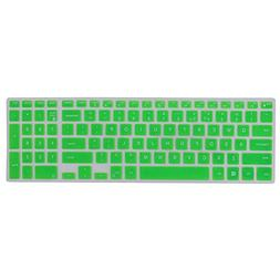 COOSKIN Thin Colorful Silicone Dell Keyboard Protector Cover