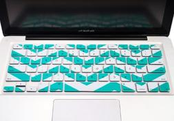 TopCase Chevron Zig - Zag Silicone Keyboard Cover Skin for M