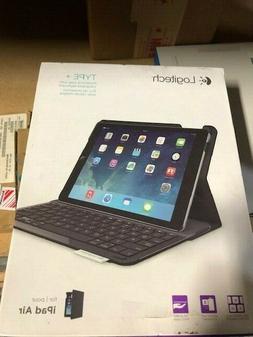 Logitech Type+ Wireless Bluetooth Keyboard Folio Case for Ap