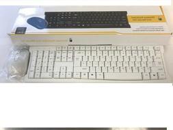 UK 2.4G Wireless Keyboard and Cordless Optical Mouse Combo F