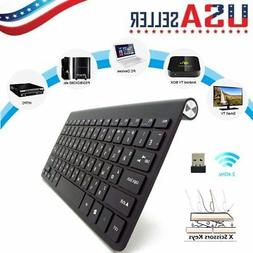 Ultra Slim 2.4G Mini Wireless Keyboard For PC Windows Laptop