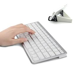 MOTONG Ultra Slim Mini Bluetooth 3.0 Wireless Keyboard with