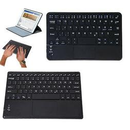 Ultra-Slim Wireless Bluetooth Keyboard with Built-in Multi-t