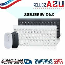 ultra thin wireless keyboard mouse combo set