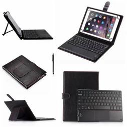 "Universal Touchpad Keyboard &Leather Case For 7"" 8"" 9"" 10.1"