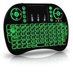 Universal i9 2.4Ghz USB Wireless Keyboard Mouse for Linux Ch
