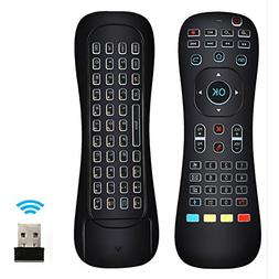 LinkStyle Updated Air Mouse Backlit, 2.4G Wireless Android K