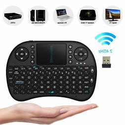 US Mini i8 Wireless Keyboard 2.4G with Touchpad for PC Andro