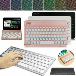 US Slim Wireless Keyboard For LG G Pad 5 10.1 FHD 4G 2019 Ta