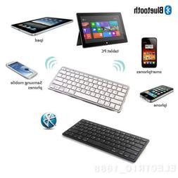 US Ultra Slim Portable Wireless Keyboard Keypad For IPad 1/2
