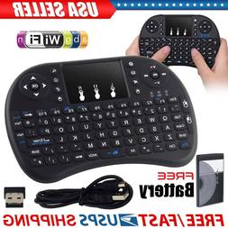 US Wireless Mini Keyboard 2.4G with Touchpad for PC Android