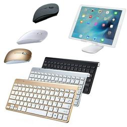 US Wireless Portable Keyboard Ultra Slim With Mouse for Appl