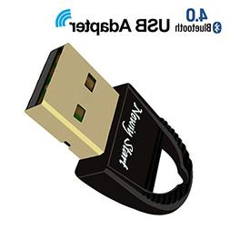 USB Bluetooth 4.0 Adapter Wireless Dongle for PC,Laptop,Spea