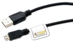 ReadyPlug USB Charger Cable for: Rii K12+ Mini Wireless Keyb