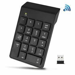 USB Wireless 18 Keys Number Pad Numeric Numpad Keypad Keyboa