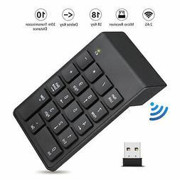 USB Wireless Number Pad Numpad Numeric Keypad Number Keyboar