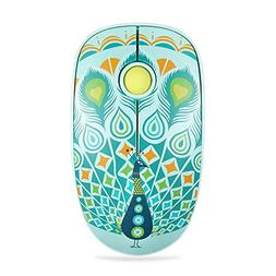 FD V8 Wireless Mouse , 2.4G Cute Colorful Animal Slim Silent