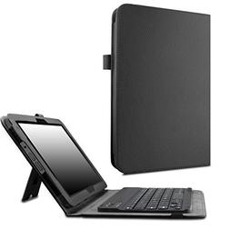 Verizon Ellipsis 10 Keyboard Case - Infiland Slim Premium PU