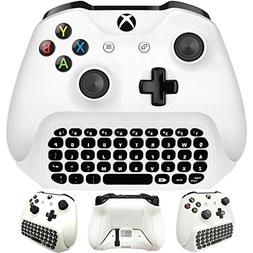 Whiteoak Xbox One S Chatpad Mini Gaming Keyboard Wireless Ch