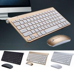 Wireless Bluetooth Keyboard and 2.4GHz Wireless Cordless Opt