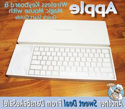 Apple Wireless Bluetooth Keyboard and Magic Mouse 2 A1644 A1