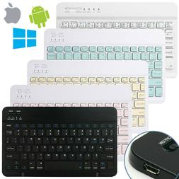 Wireless Bluetooth Keyboard for IOS Android Windows PC Ipad
