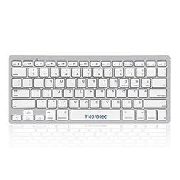 CEROBIT Wireless Bluetooth Keyboard Ultra Slim Universal Com