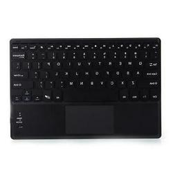 Wireless Bluetooth Keyboard with Touchpad for Mac Smart Phon