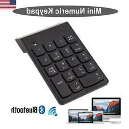 Wireless Bluetooth Number Numeric Keypad Digital Keyboard fo