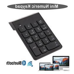 Wireless Bluetooth Number Pad Numeric Keypad 18 Key Digital