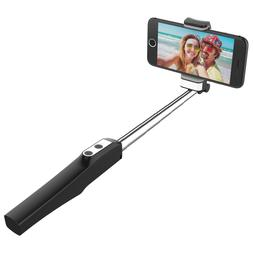 JETech Wireless Bluetooth Selfie Stick Extendable with LED F
