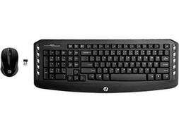 HP Wireless Classic Desktop Keyboard and Mouse - keyboard an