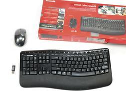 Microsoft Wireless Comfort Keyboard 5000 Ergonomic 1394 w Mo