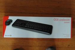 Microsoft Wireless Desktop 800 2LF-00001 Keyboard & Mouse Co