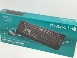 wireless desktop mk520 keyboard and mouse combo