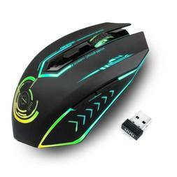 Wireless Gaming Mouse Up to 7200 DPI, UHURU Rechargeable USB