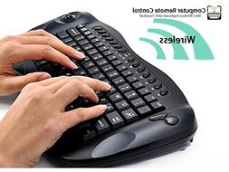 TeKit Wireless 2.4G Keyboard With Trackball